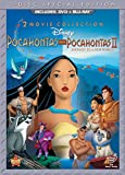 Cover art for  Pocahontas Two-Movie Special Edition (Pocahontas / Pocahontas II: Journey To A New World) (Three-Disc Blu-ray/DVD Combo in DVD Packaging)