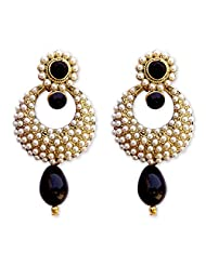 HI LOOK Pearl Studded Earring For Women