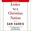 Letter to a Christian Nation (       UNABRIDGED) by Sam Harris Narrated by Jordan Bridges