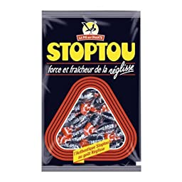 La Pie Qui Chante Stoptou Licorice Candy 450grams (15.8 Oz)