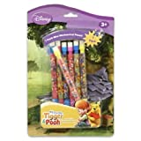 Disney Winnie The Pooh Mechanical Pencil- 7 Pack Mini Pooh pencils