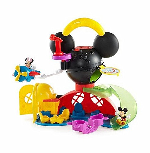 Fisher-price Disney Mickey Mouse: Fly N Slide Clubhouse