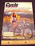 1971 71 October CYCLE Magazine (Features: 250 Bultaco Alpina, Broncco Apache 100, 350 Kawasaki Bighorn racer)