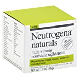 Neutrogena Nourishing Night Cream, Multi-Vitamin 1.7 oz (48 g)