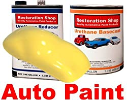 Daytona Yellow URETHANE BASECOAT/CLEAR Car Auto Paint