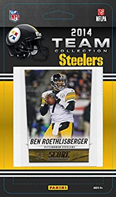 Pittsburgh Steelers 2014 Score NFL Football Factory Sealed 10 Card Team Set Including Ben Roethlisberger, Ryan Shazier Rookie Plus