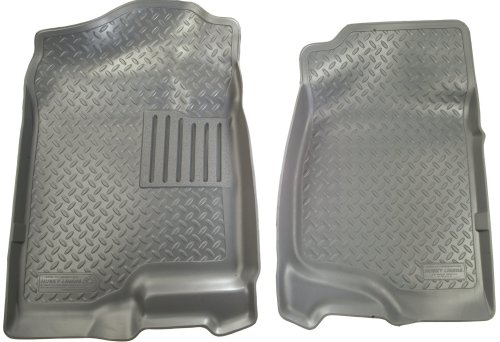 Front Floor Liners Custom Molded Grey