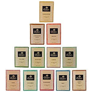 Aster Luxury Handmade Family Pack Premium Soap Bar - Set of 12 (125g each)