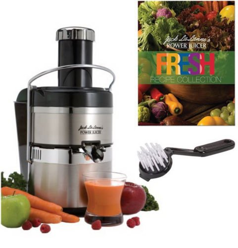 Jack Lalanne's JLSS Power Juicer Deluxe Stainless-Steel Electric Juicer (Juicer Express compare prices)