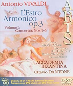 Vivaldi: L'estro Armonico, Op. 3, Vol. 1: Concertos No. 1-6 [DVD Audio] (DVD Audio)