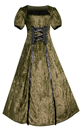 Victorian Renaissance Romantic Dress