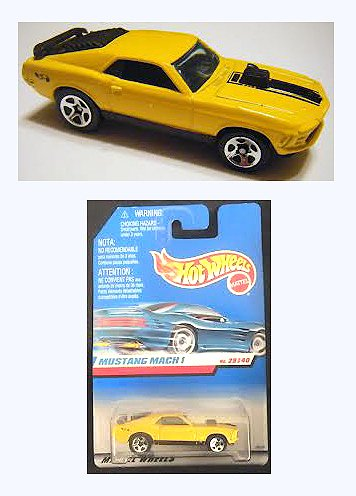 MATTEL CARS HOT WHEELS 1998 FIRTS EDITIONS #29 OF 40 (RARE) MUSTANG MACH 1 - 1