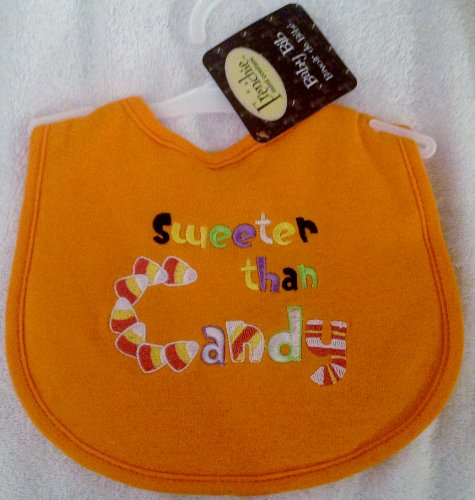 "Frenchie Mini Couture ""Sweeter Than Candy"" Baby Bib"