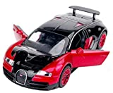 NuoYa001 New style 1:32 Bugatti Veyron Alloy Diecast car model collection light&sound Red
