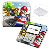 Super Mario Kart Hard Case Back Cover For Nintendo 2DS + Free Front Skin Sticker #10
