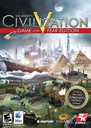 Sid Meier's Civilization V Game of the Year Edition [Mac Download]