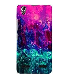 EPICCASE girly colors Mobile Back Case Cover For Lenovo A6000 (Designer Case)