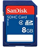 SanDisk 8GB Class 4 SDHC Memory Card - Frustration-Free Packaging