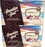 Hawaiian Host Whole Chocolate Macadamias 2 Pack (16 Oz X 2)