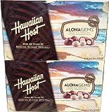 Hawaiian Host Whole Chocolate Macadamias 2 Pack (16 Oz X 2) (Pack of 2)