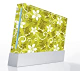 African Flower Mask Decorative Protector Skin Decal Sticker for Nintendo Wii Console