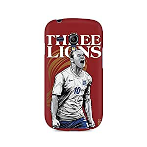 Ebby The Three Lions Premium Printed Case For Samsung S3 Mini 8190
