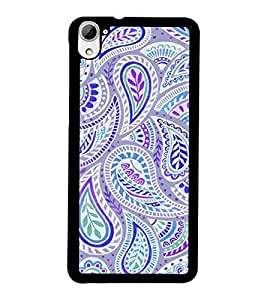 PrintDhaba Pattern D-2131 Back Case Cover for HTC DESIRE 826 (Multi-Coloured)