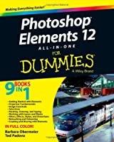 Photoshop Elements 12 All-in-One For Dummies Front Cover