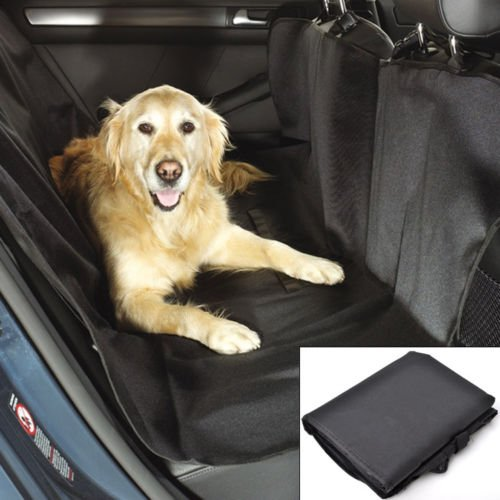 Seat Covers Oxford Waterproof Car Suv Rear Bench Seat Cover for Pet Dog car seat covers for trucks girls baby woman dog suv dogs Black Size 57