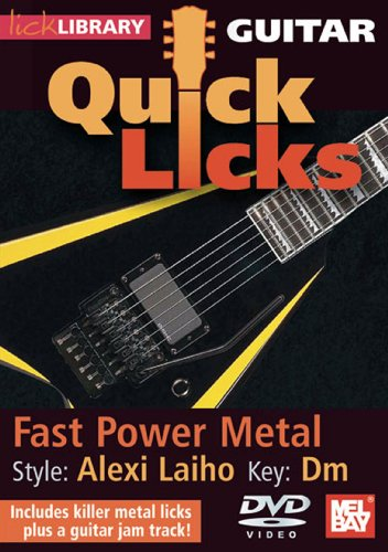 Lick Library: Alexi Laiho Quick Licks - Fast Power Metal [DVD] [2010]