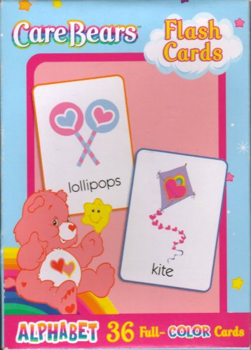 Buy Care Bears Flash Cards ~ Alphabet