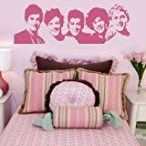 One Direction Celeb Wall Transfer / Removable Vinyl / Celebrity Wall Sticker x41