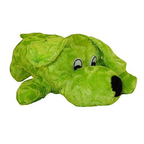 Generic Value Plush - LAYING DOG ( GREEN - 10 inch )