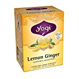 Yogi Teas Lemon Ginger Tea Bags, 16 Count