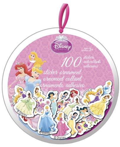 Disney Princess XMAS Sticker Ornament