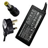 ECP - HP Compaq 463953-001 18.5v 6.5a (SMART-PIN version) Compatible Laptop Power Supply Charger Adapter with Power Cord