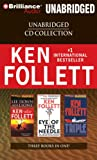 Ken Follett CD Collection: Lie Down with Lions/Eye of the Needle/Triple Ken Follett