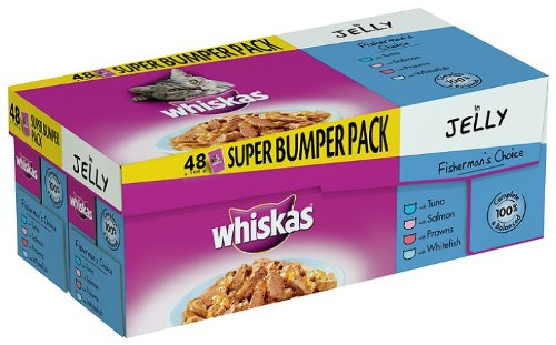 whiskas-fishermans-choice-in-jelly-pouches-48-x-100-g