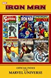img - for Iron Man: Official Index to the Marvel Universe book / textbook / text book