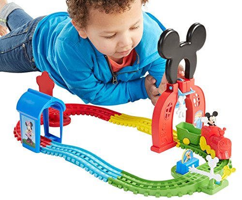 Fisher-Price Disney Mickey Mouse Clubhouse Mouska Train Express Playset (Fisher Price Mickey Clubhouse compare prices)