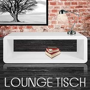 Lounge tisch wohnzimmertisch weiss 70er retro design for Wohnzimmertisch 70er jahre