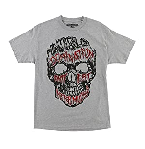 Metal Mulisha Men's Carved Graphic T-Shirt-2XL Grey Heather
