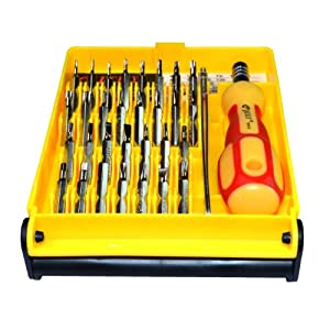 Eyeglass Repair Kit With Magnetic Screwdriver : Brand New 32-in-1 Pocket Screwdriver Tool Set Kit with ...