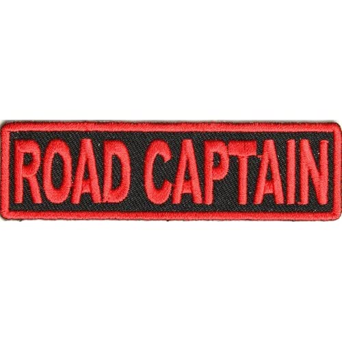 patch red embroidery 3 5x1 inch small embroidered iron on rank patch