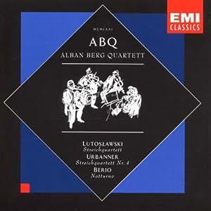 witold lutoslawski erich urbanner luciano berio alban berg quartet