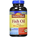Nature made 1200mg of fish oil 2400 per for Fish oil recommendations