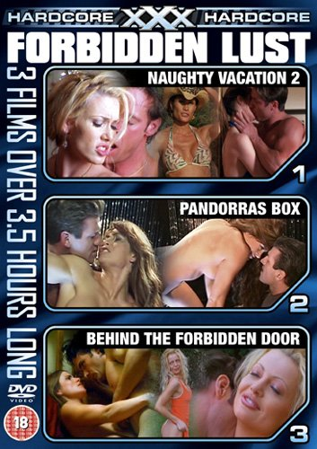 XXX Hardcore, Forbidden Lust (3 film set) [DVD]