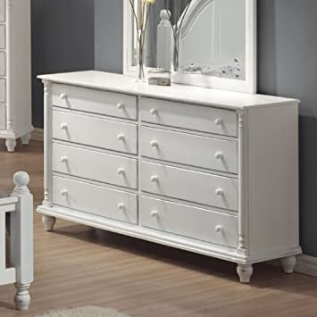 Coaster Home Furnishings 201183 Country Dresser, White