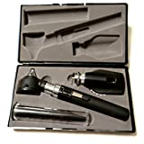 RA Bock Diagnostics Pro-Physician Pocket Fiber-optic LED Otoscope with Accessories