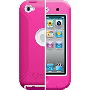 Otterbox Defender Case for iPod Touch 4G, Pink White